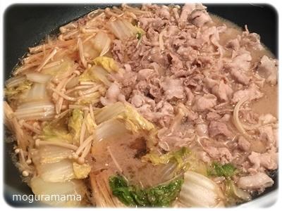 豚こまえのき白菜煮