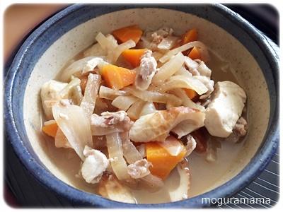 ちくわと豆腐の煮物