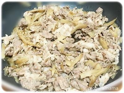 豚肉とごぼうのしぐれ煮