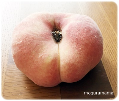 不老長寿の桃「蟠桃」