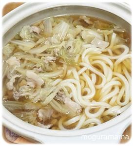 白菜うどん鍋
