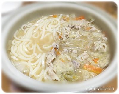 にんにく味噌の白菜鍋