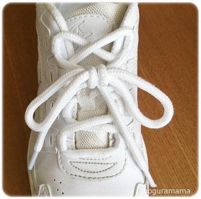 ほどけない靴紐の結び方