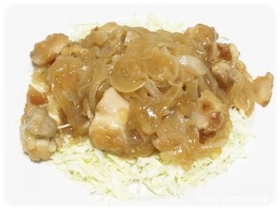 鶏肉と玉ねぎのサッパリ煮