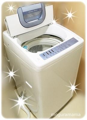 洗濯機 日立 白い約束