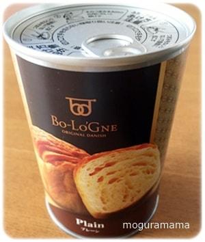 缶deボローニャ デニッシュ 非常食 プレーン