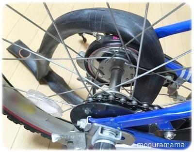 自転車パンク修理 100均