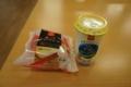 さびしい昼食