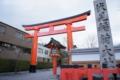 伏見稲荷大社・JR稲荷駅側の入口