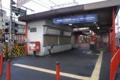 京阪線・伏見稲荷駅(墨染さんが通う駅)