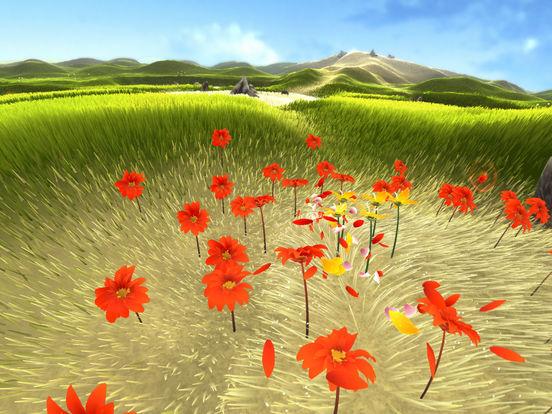 花びらが風に乗り、花を咲かしていく癒やし系PS3ゲーム「Flower」のiOS版がリリース1