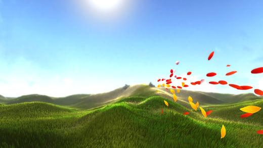花びらが風に乗り、花を咲かしていく癒やし系PS3ゲーム「Flower」のiOS版がリリース3