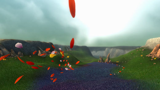 花びらが風に乗り、花を咲かしていく癒やし系PS3ゲーム「Flower」のiOS版がリリース5