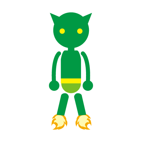 フリー素材:ピクト「ロボット」