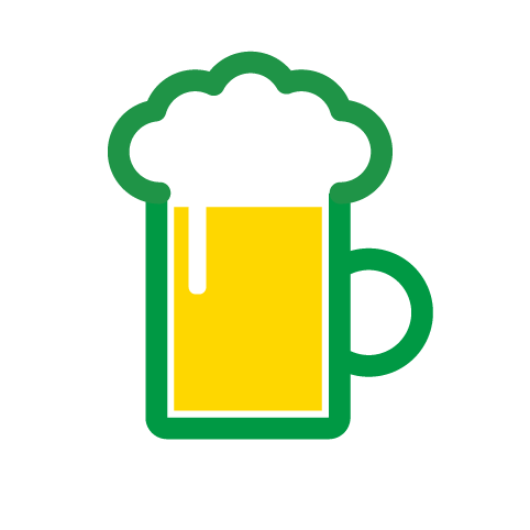 フリー素材:ピクト「ビール」