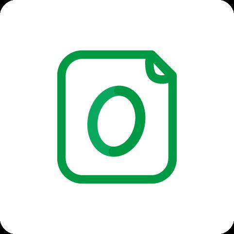 アイコン:OpenTypeフォント