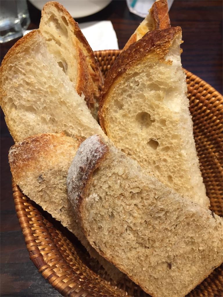 SAWAMURAのパン食べ放題ランチのバケット
