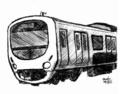 [ラクガキ][鉄道]西武30000系っぽい