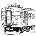 [ラクガキ][鉄道]711系っぽい