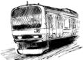 [ラクガキ][鉄道]209系500番台っぽい