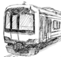 [ラクガキ][鉄道]東急5000系っぽい