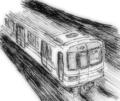 [ラクガキ][鉄道]営団地下鉄っぽい