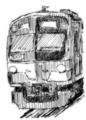 [ラクガキ][鉄道]西武3000系っぽい