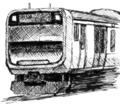 [ラクガキ][鉄道]E235系っぽい
