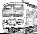 [ラクガキ][鉄道]秩父6000系っぽい