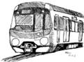 [ラクガキ][鉄道]都営大江戸線っぽい