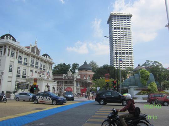 ムスデカ・スクエア(Merdeka Square) 独立広場周辺