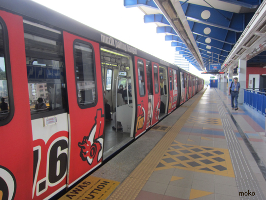 マレーシアKL 電車