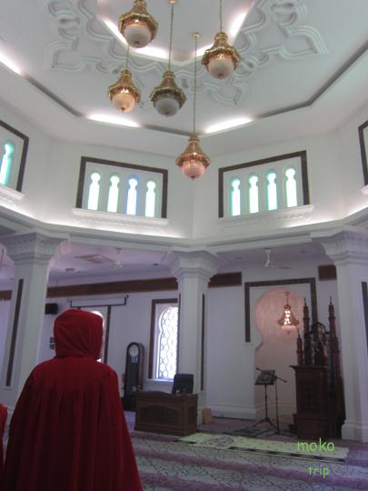 マスジット・ジャメ(Masjid Jamek) モスク(mosque)天井部分