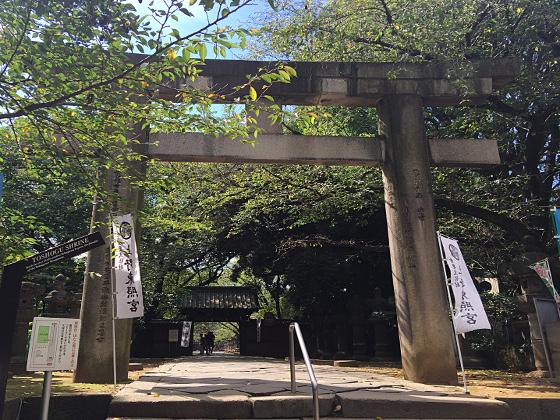 上野東照宮 鳥居