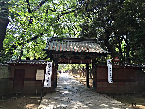上野東照宮 入口