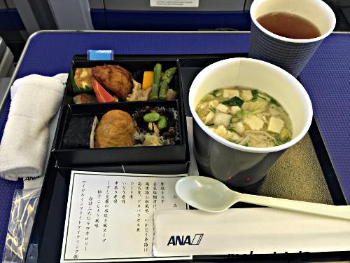 ANA プレミアムクラス機内食