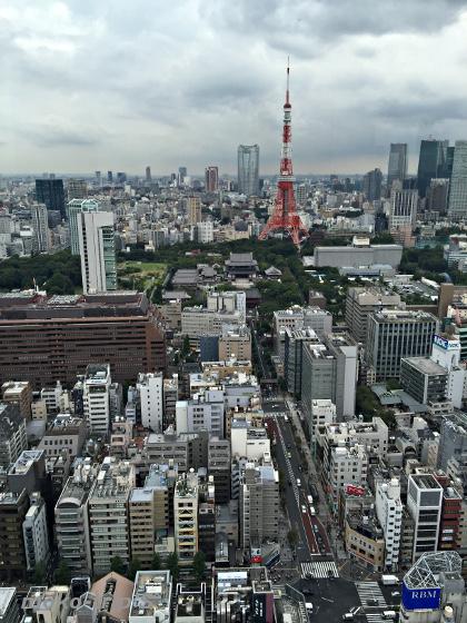 東京タワー 世界貿易センタービル展望台