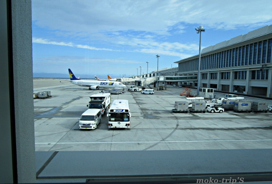 那覇空港ANAラウンジからの眺め