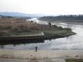 山科川と宇治川の合流地点