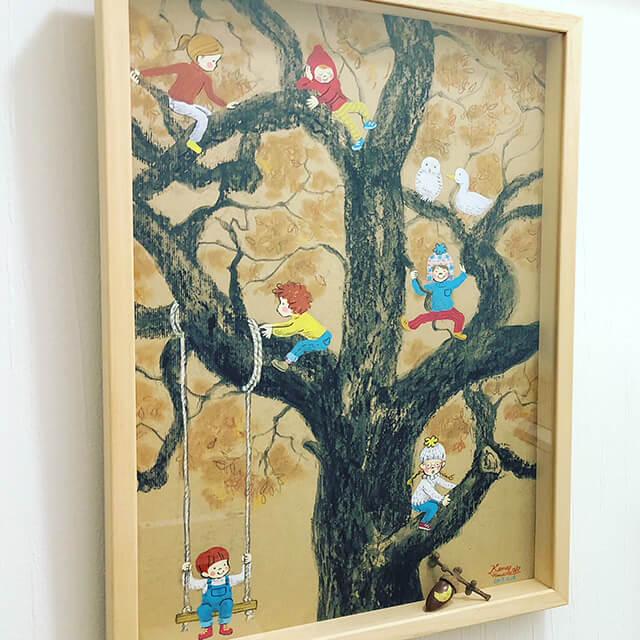 山田花菜:ふゆの子どもたち