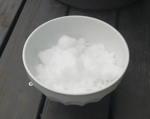 カフェオレボウル一杯のお塩