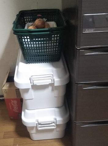無印良品の収納ボックス