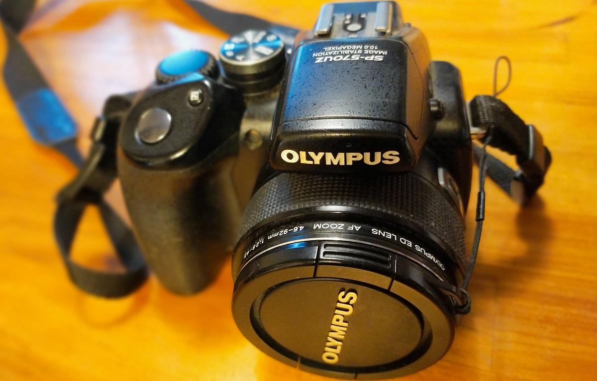 OLIMPUS 570uz