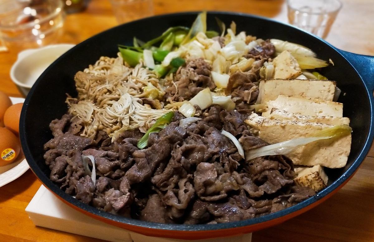 すき焼き(関東風すき煮)