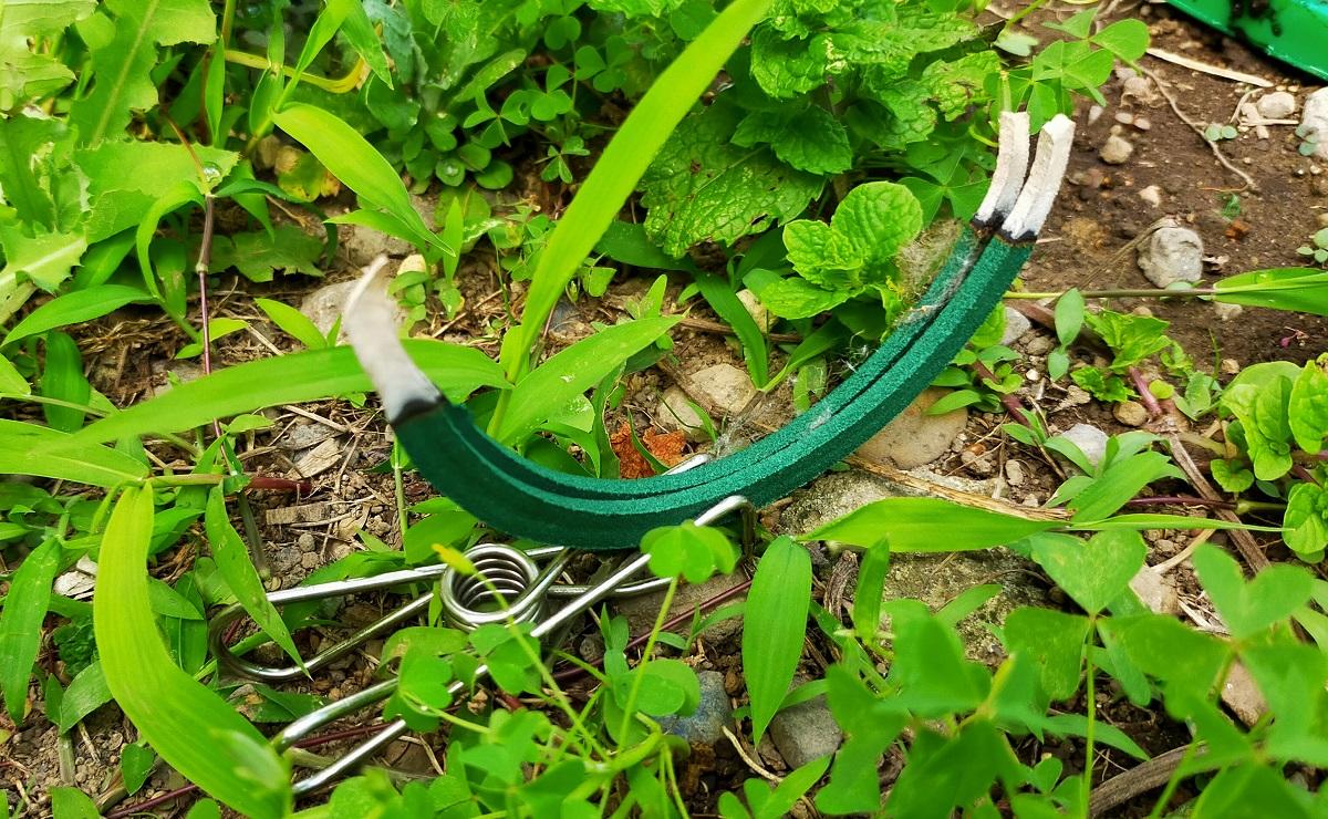 庭仕事の友、蚊取り線香