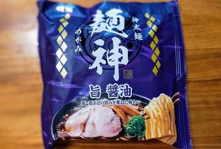 最高級袋麺 麺神(めがみ)