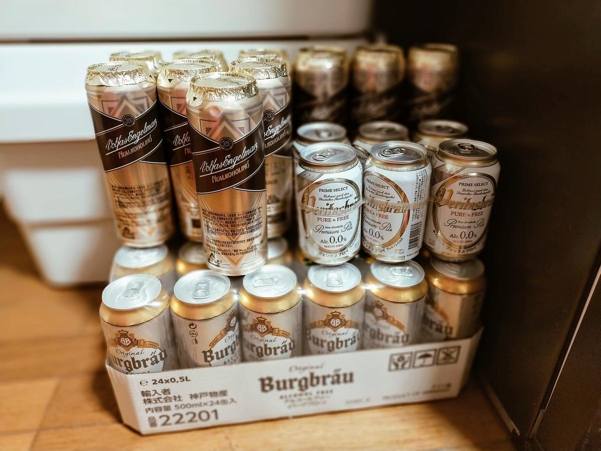 脱あるコース製法の輸入ノンアルコールビール3種