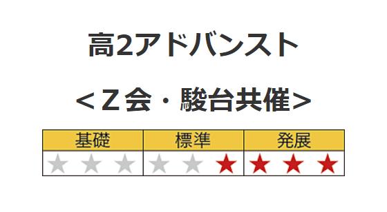 駿台Z会 アドバンスト模試