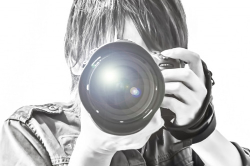 プロの写真