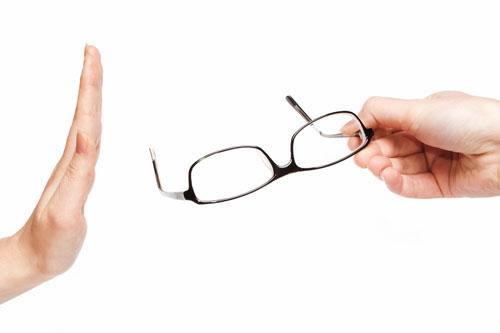お見合い時はメガネをやめて欲しい